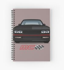 85-86 Black SS Spiral Notebook