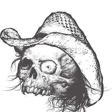 Chadlonius Hillbilly Skull by chadlonius