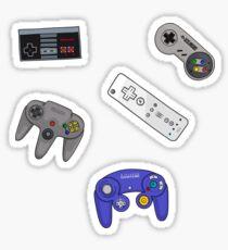 Nintendo Controller Sticker Set Sticker