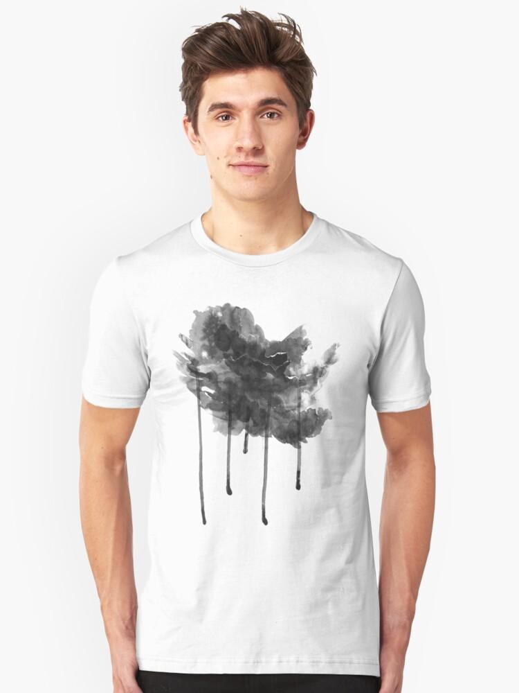 bLACK rAIN T-ShirT by Denis Marsili