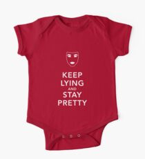 Keep Lying and Stay Pretty One Piece - Short Sleeve