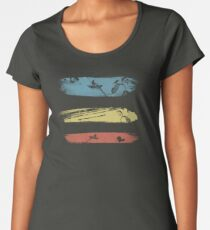 Enchanting Nature Cool Grunge Vintage T-Shirt Women's Premium T-Shirt