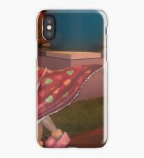 She checking on dinner and he on what's for dessert maybe...... iPhone Case/Skin