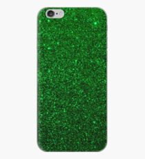 Christmas Evergreen Green Sparkly Glitter iPhone Case