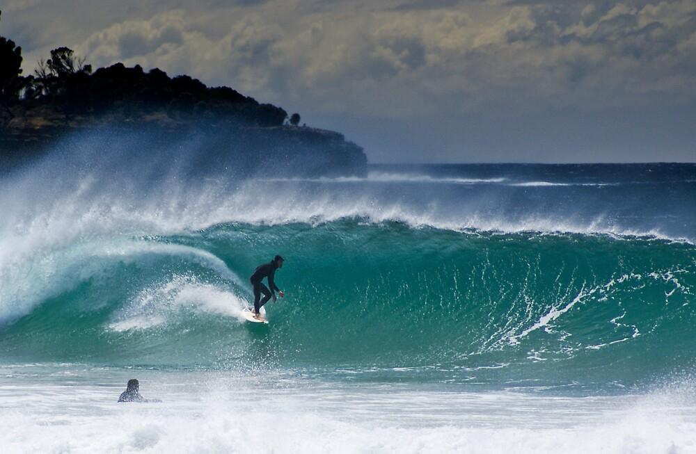 Eaglehawk Neck on Tasmania's south east coast by JimmyEmms