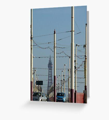 Tower ahead Greeting Card