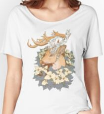 Non-typical Blue Quartz Buck Women's Relaxed Fit T-Shirt