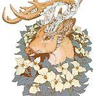 «Buck de cuarzo azul no típico» de Kellie Lamphere