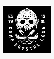 Camp Crystal lake Photographic Print