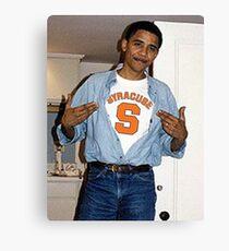 Syracuse Obama Canvas Print