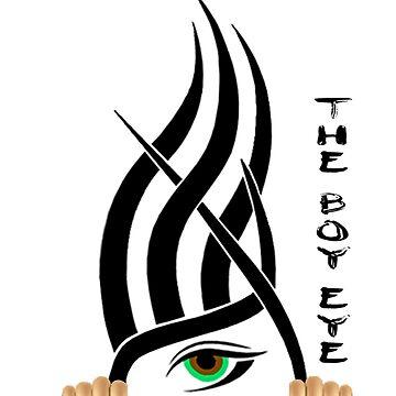 The Boy Eye t-shirt by AlissonJanko