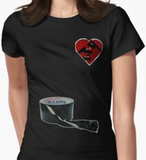 How to mend a broken heart: The Rock Way Women's Fitted T-Shirt