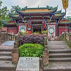 China. Fengdu Ghost City. Temple. by vadim19