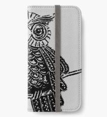 Cute Owl On Tree iPhone Wallet/Case/Skin