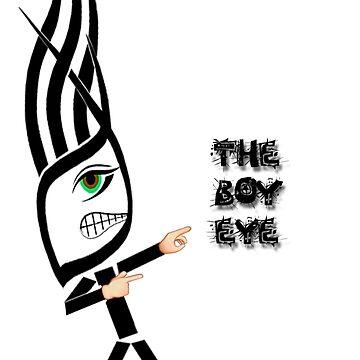 The Boy Eye funeey t-shirt by AlissonJanko