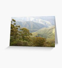 Mountain Light - New England National Park Greeting Card