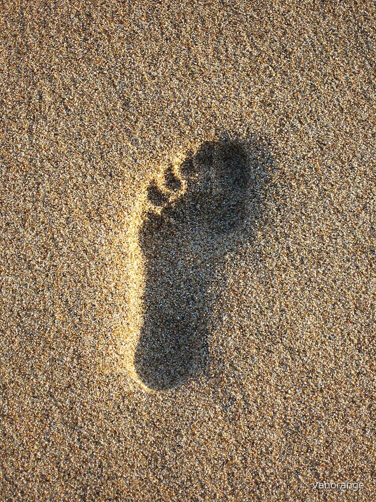 Foot print by vanorange