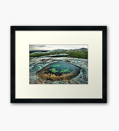The Emerald Pool Framed Print