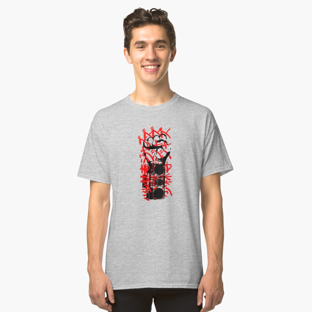 Boom Boxing Classic T-Shirt Front