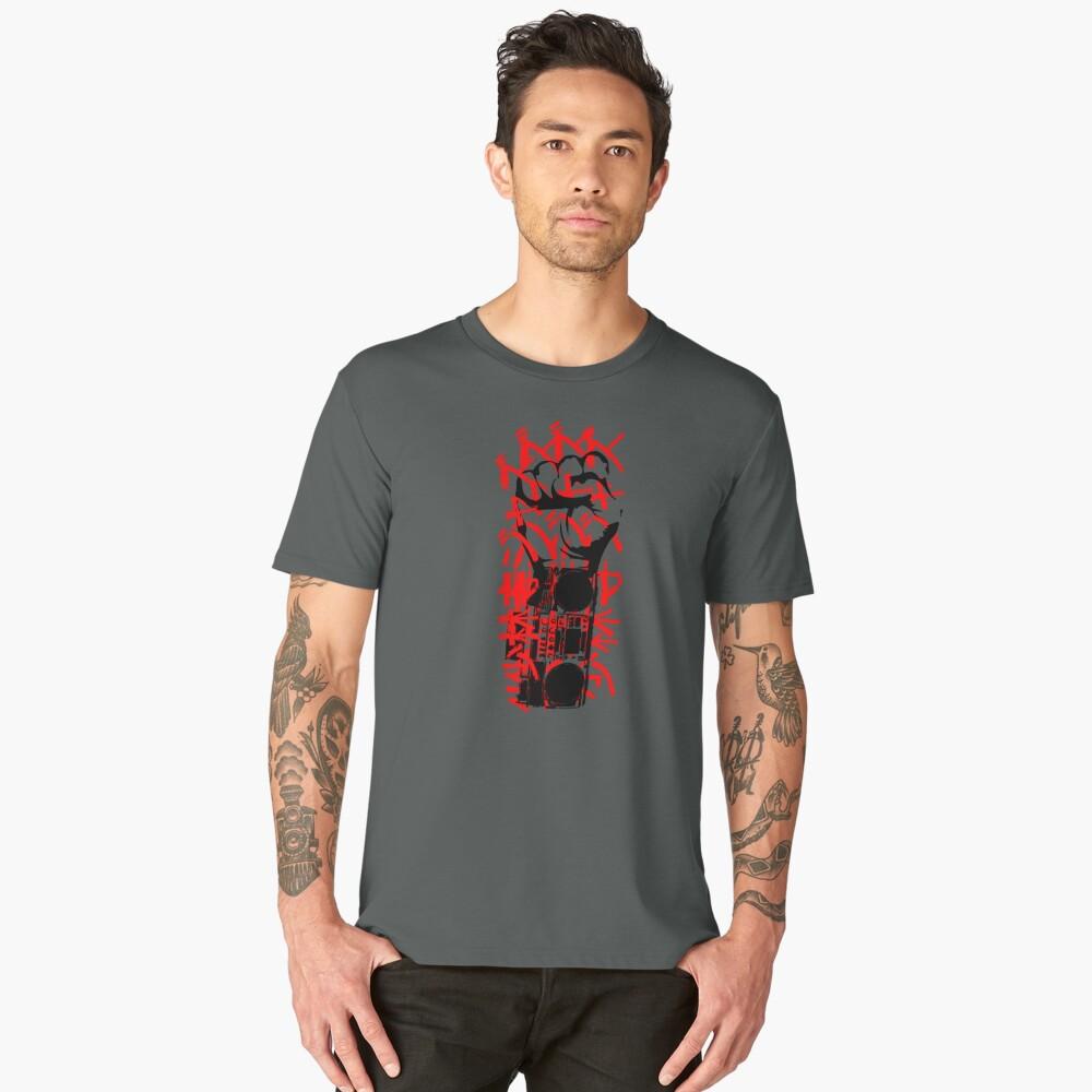Boom Boxing Men's Premium T-Shirt Front