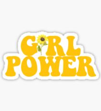 GIRL POWER - Stil 2 Sticker