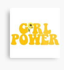 GIRL POWER - Style 2  Metal Print