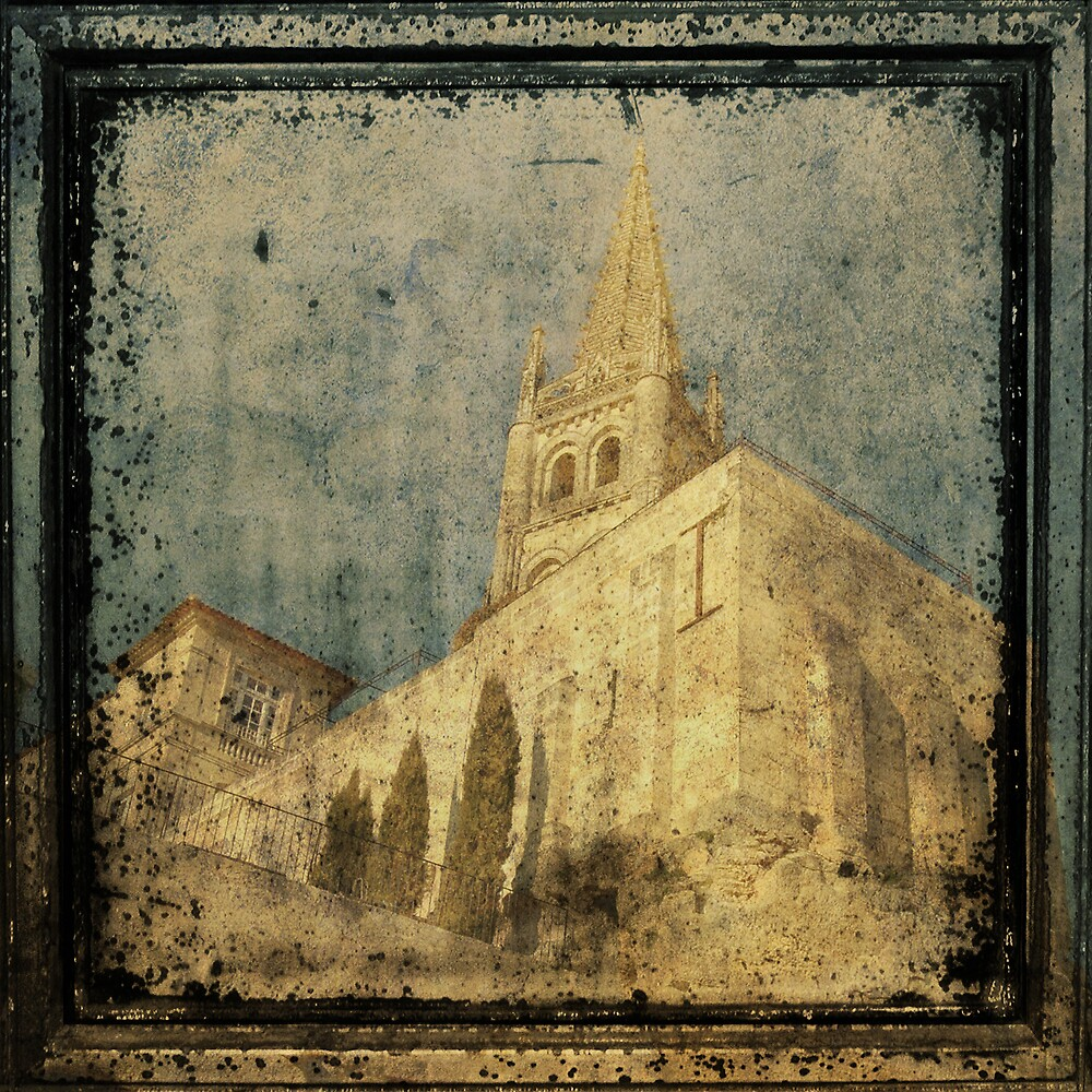 St Emilion - The Cathedral by Sue Wickham