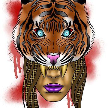 Tigers Blood by CJOrazi