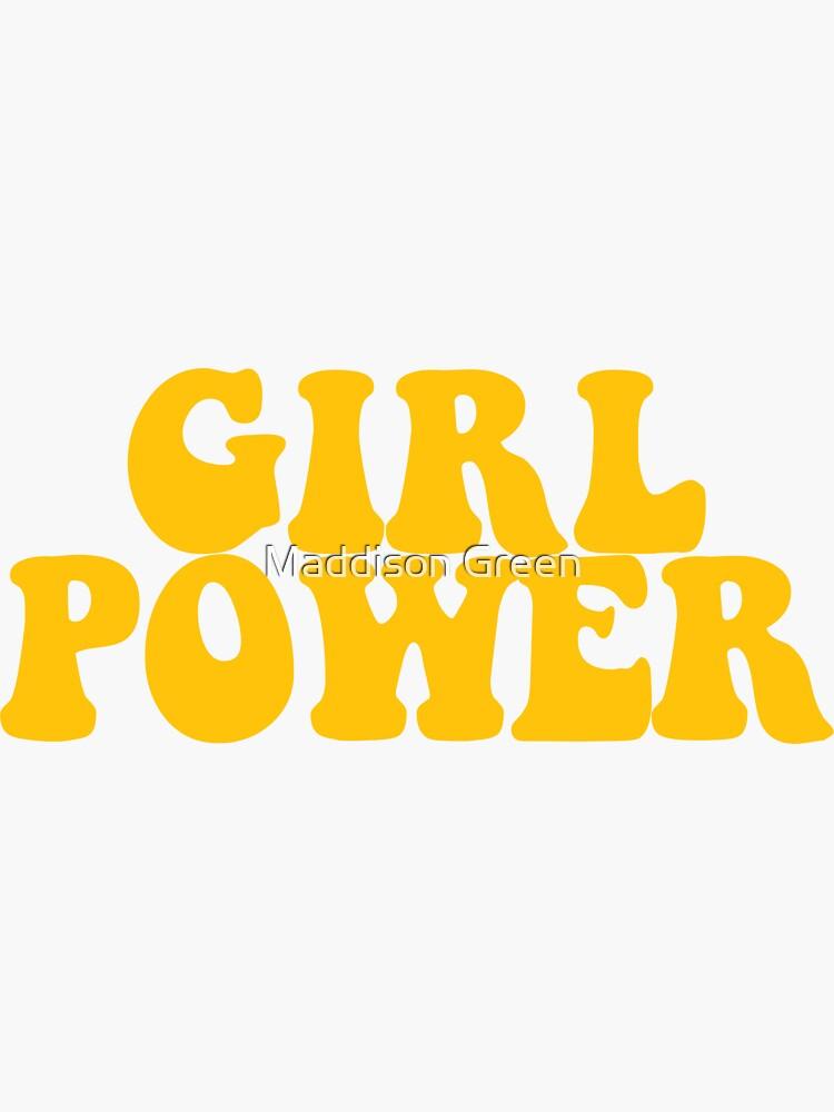 GIRL POWER - Style 3 de maddisonegreen