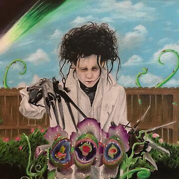 Edward vs The Plant.  by Shredart23b