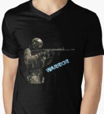 WARRIOR OF GAME !!! T-shirt col V homme