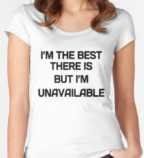 I'm the Best Women's Fitted Scoop T-Shirt