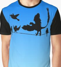 Dinosaurs: Past and Present Graphic T-Shirt