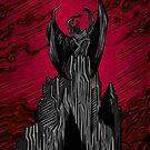 Dämonenberg Rot von Chris Geocos