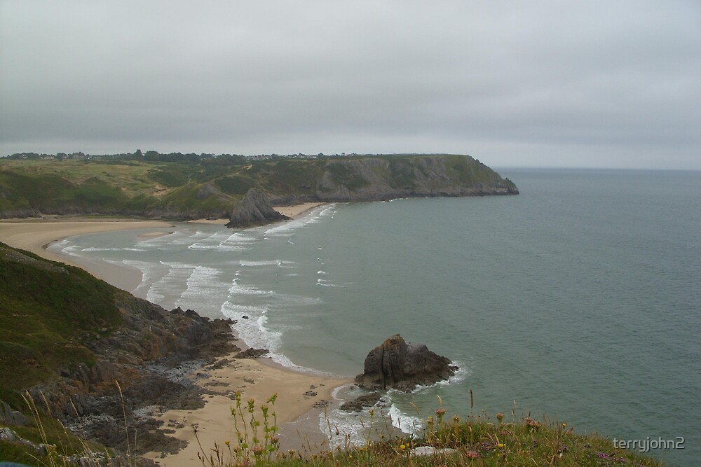 Gower Coast Wales by terryjohn2