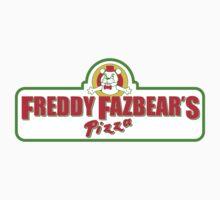 Freddy Fazbear's Pizza Parody Shirt One Piece - Long Sleeve