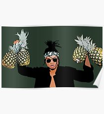Swae Lee Holding Pineapples Poster