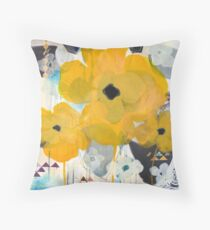 The Vivid Now Throw Pillow