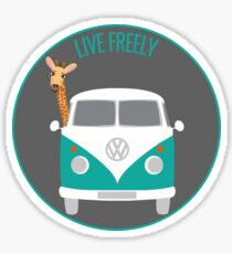 LIVE FREELY Sticker