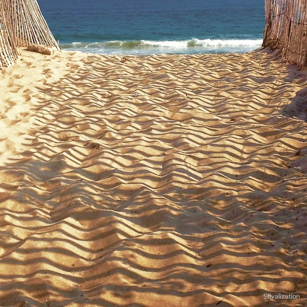Beach Shadows by Silvalization