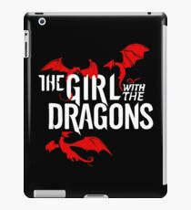 the girl with the dragon iPad Case/Skin