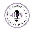 Support Page Logo for Total and Partial Gastrectomy Patients by Michelle Potter