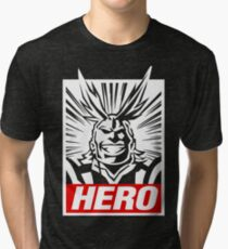 Boku No Hero Academia - All Might Tri-blend T-Shirt