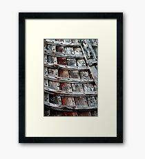 Ribs Framed Print