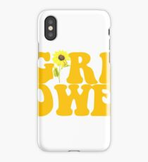 GIRL POWER - Style 2  iPhone Case/Skin