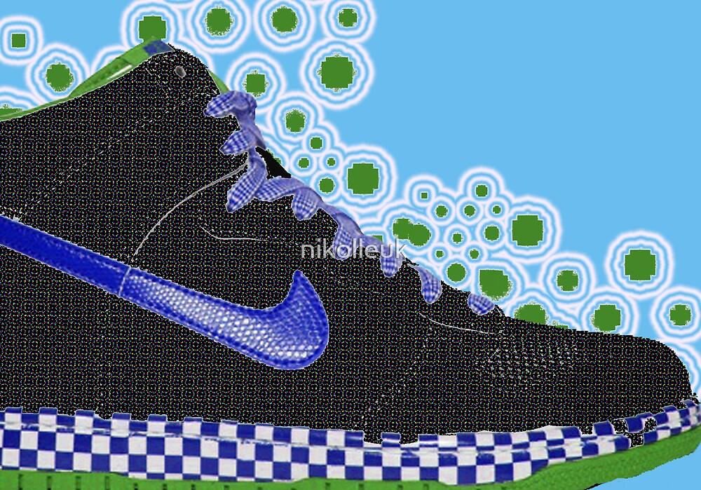 footwear blue by nikolleuk