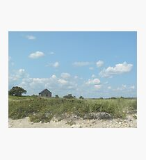 Prairie on the Beach Photographic Print
