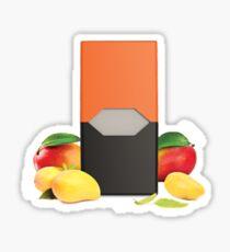 mango pod Sticker