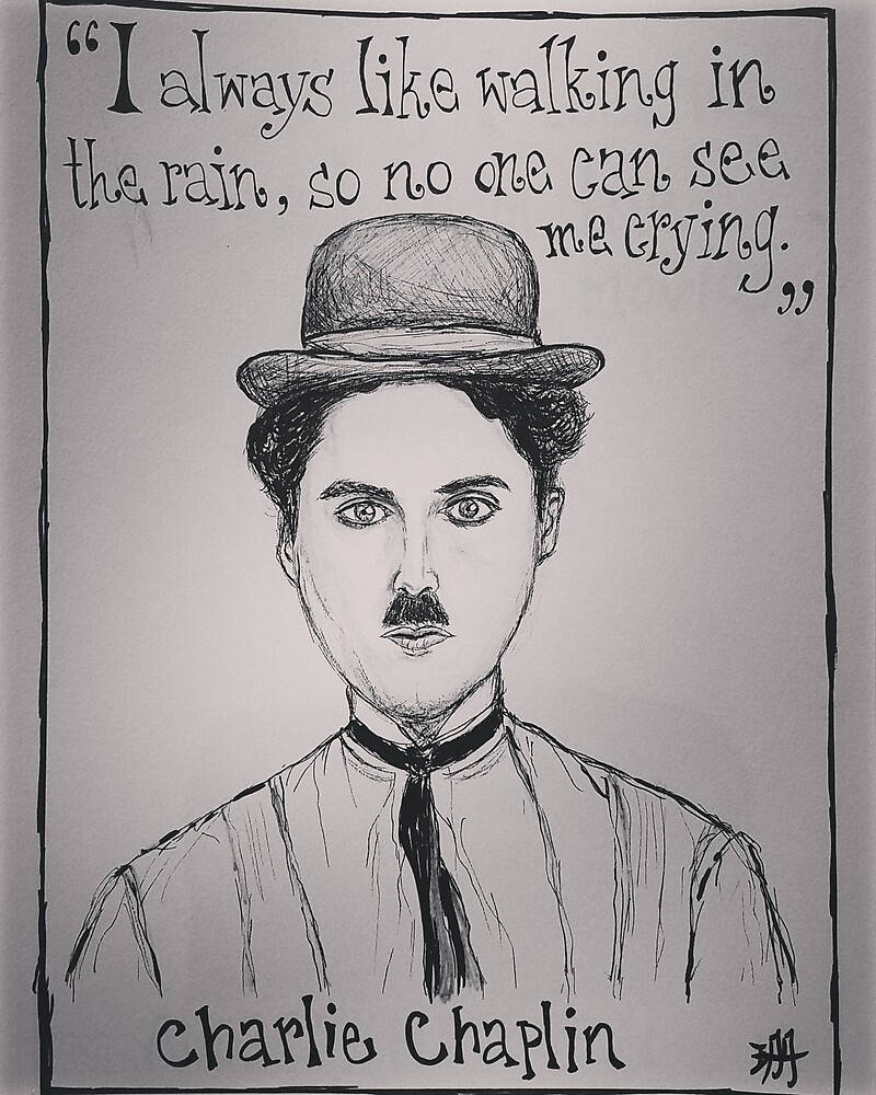 (Charlie Chaplin - Comic) - yks by ofs珊 by yksbyofs