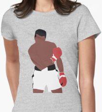Muhammad Ali Tailliertes T-Shirt für Frauen